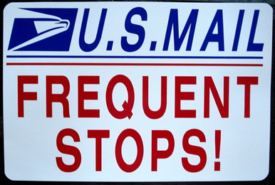 U S Mail Frequent Stops Jeep Pjsigns Com