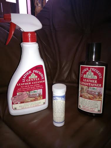 LEATHER CARE PRODUCTS CONDITIONER   £10 CLEANER           £10 INK REMOVER   £10