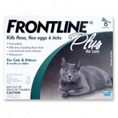 Frontline Flea Control Plus for All Cats And Kittens 6 Month Supply