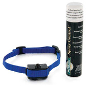 PetSafe Little Dog Spray Bark Control Collar Blue