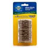Premier Busy Buddy Ultra-Thick Natural Rawhide Rings Refill Medium Brown