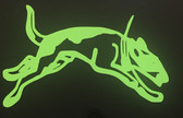 Running Hound Decals