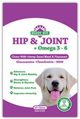 Buddy Boy Hip and Joint Chew With Hemp Seed, Glucosamine and Chondroitin for Dogs, Bacon Flavored